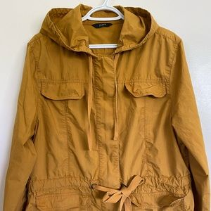 JCrew casual trench coat size 12